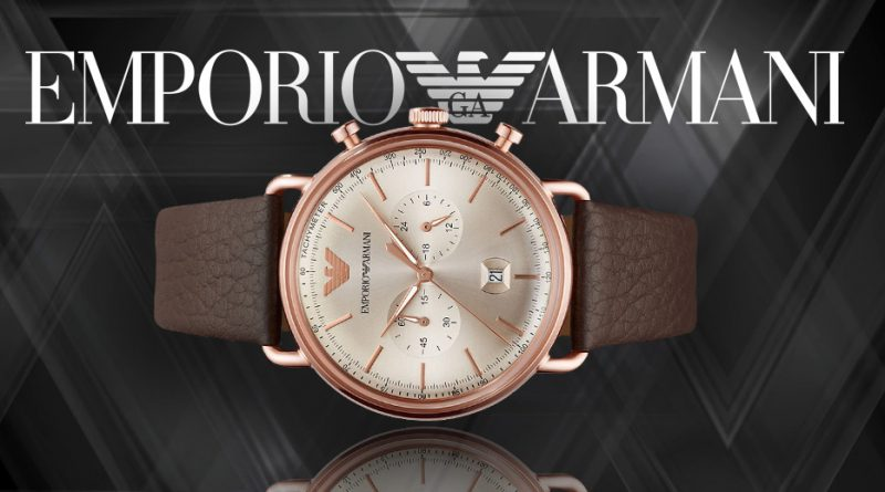 Armani horloge aanbieding