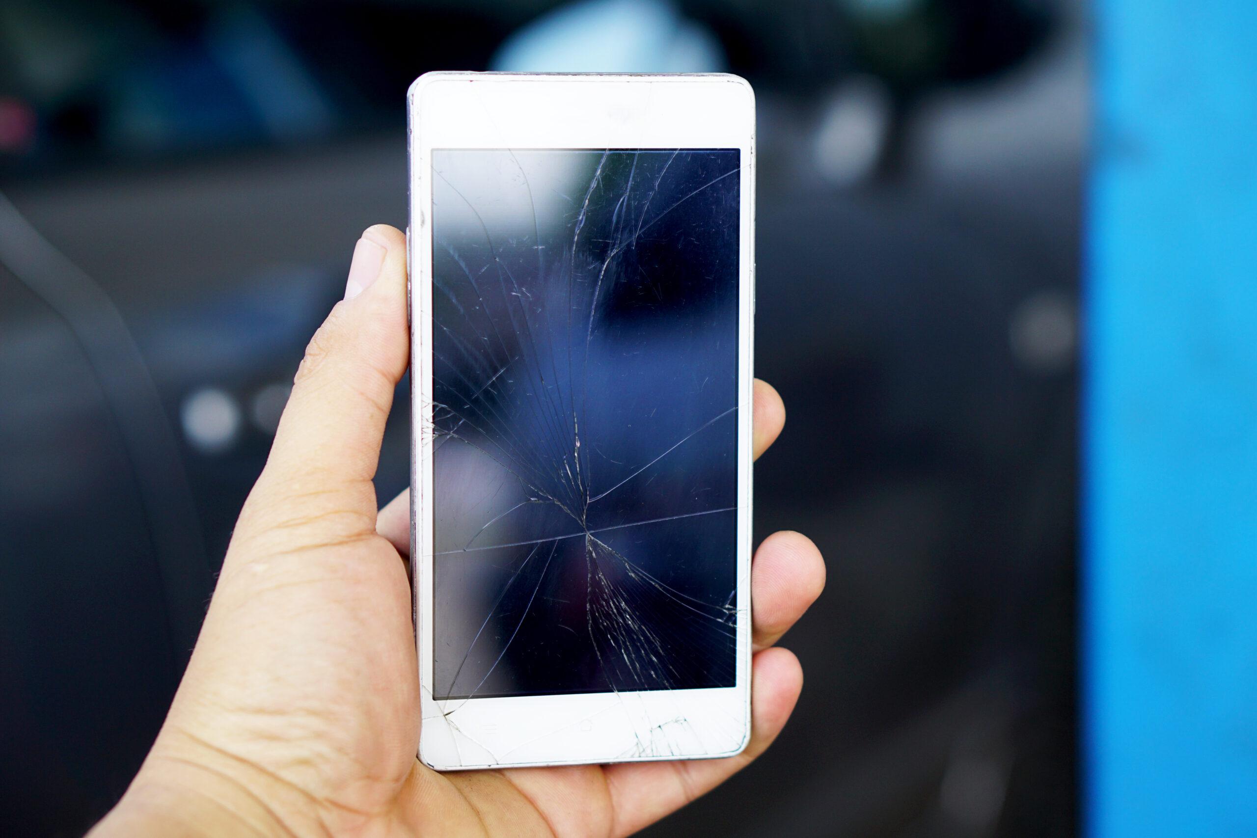 scherm stuk telefoon